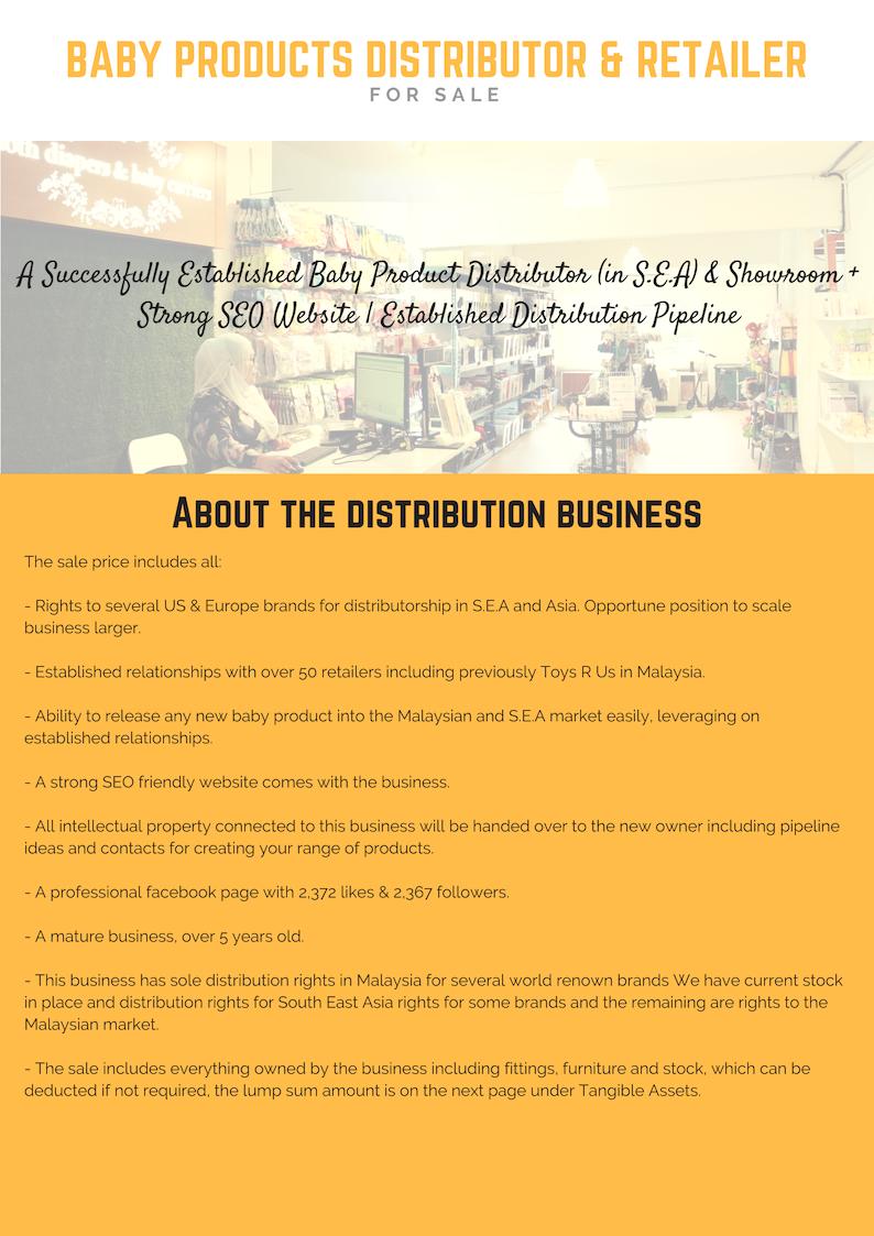 Profitable Positive Cash Flow Baby Product Retailer